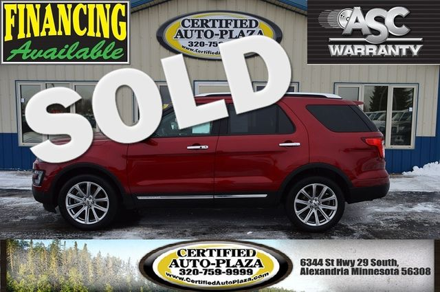 2017 Ford Explorer Limited 4X4 in  Minnesota