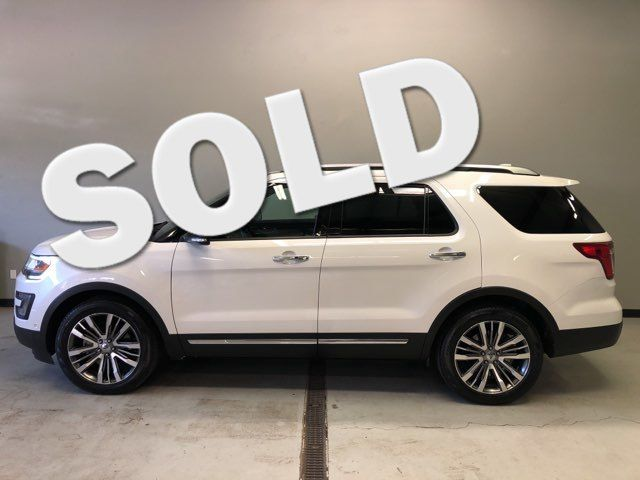 2017 Ford Explorer Platinum 4WD in , Utah 84041