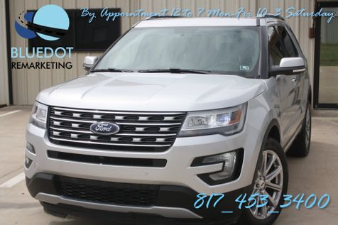 2017 Ford Explorer Limited | 4WD-NAV-DUAL MOONROOFS- SONY SYNC-HEATED COOLED SEATS-WARRANTY~ in Mansfield, TX