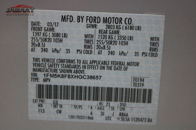 2017 Ford Explorer Limited Merrillville, Indiana 49