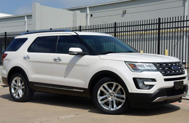 2017 Ford Explorer Limited * 1-OWNER * Dual Roofs * BLIND SPOT * 20s