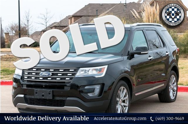 2017 Ford Explorer Limited in Rowlett