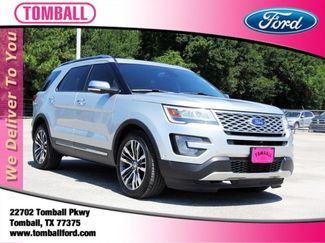 2017 Ford Explorer Platinum in Tomball, TX 77375