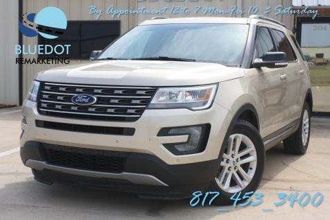 2017 Ford Explorer XLT | TECH PACK-NAV-TWIN MOONROOF- BLINDSPOT-HANDSFREE TAILGATE-LEATHER-42K MSRP~ in Mansfield, TX