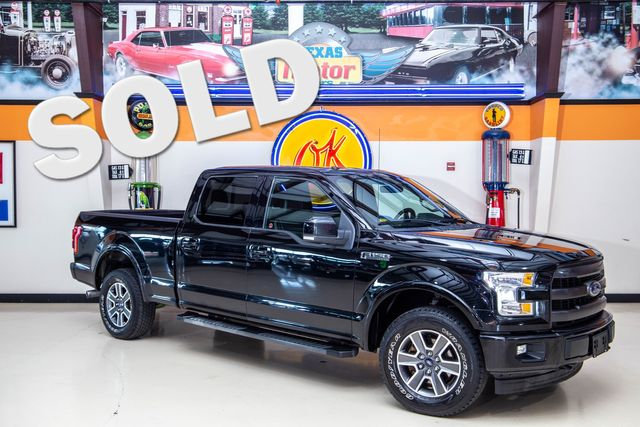 2017 Ford F-150 Lariat 4x4 in Plano, TX 75075