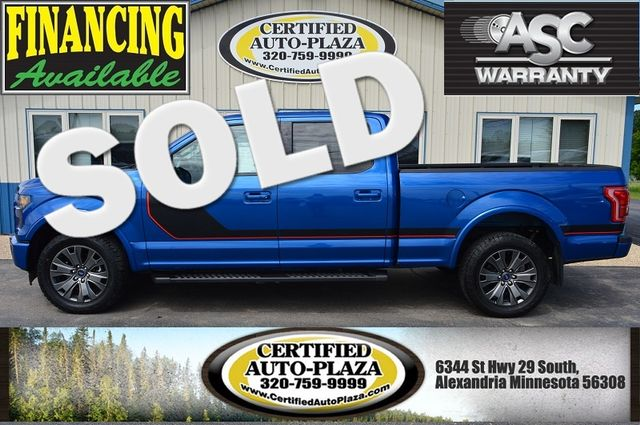 2017 Ford F-150 Lariat Sport package 4x4 in  Minnesota