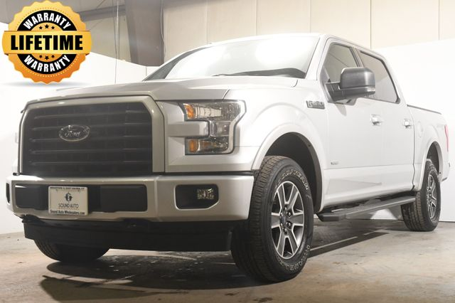 2017 Ford F-150 XLT w/ Nav/ Full Console/ Safety Tech
