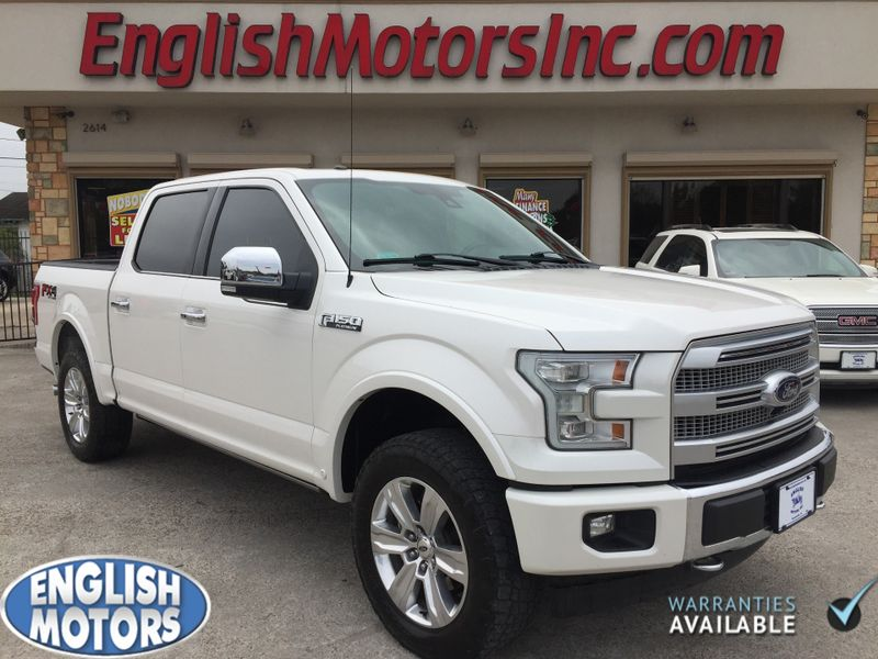 2017 Ford F-150 Platinum  Brownsville TX  English Motors  in Brownsville, TX