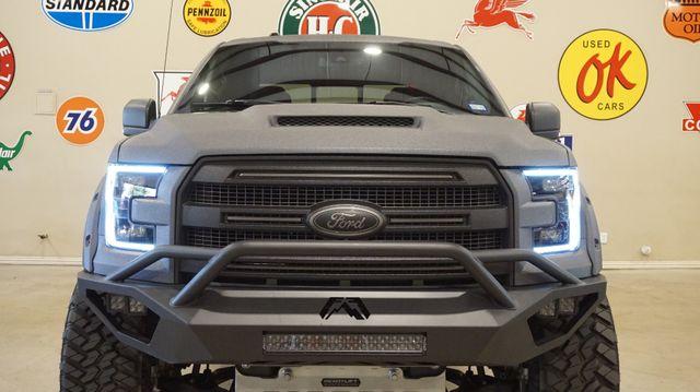 2017 Ford F-150 Platinum SuperCrew DUPONT KEVLAR,LIFT,PANO ROOF,NAV,HTD/COOL LTH,FUEL