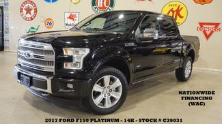 2017 Ford F-150 Platinum 4X4 PANO ROOF,NAV,HTD/COOL LTH,14K in Carrollton TX, 75006