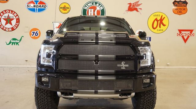 2017 Ford F-150 SHELBY 4X4 MSRP 102K,LIFTED,SUPERCHARGED,18K