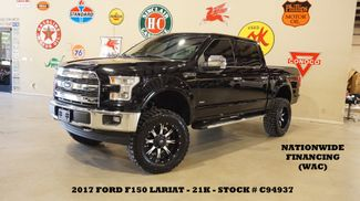 2017 Ford F-150 Lariat 4X4 LIFTED,PANO ROOF,NAV,LTH,FUEL WHLS,21K in Carrollton, TX 75006