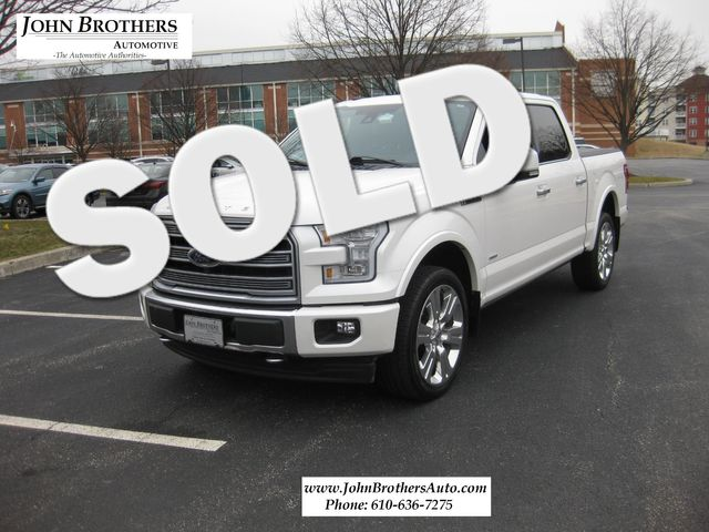 2017 Sold Ford F-150 Limited Conshohocken, Pennsylvania