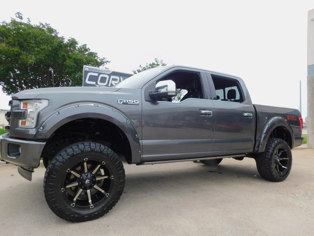 """2017 Ford F-150 Platinum FX4 4x4, 6"""" Lift, Power Boards, 1-Owner"""