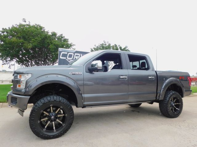 """2017 Ford F-150 Platinum FX4 4x4, 6"""" Lift, Power Boards, 1-Owner in Dallas, Texas 75220"""