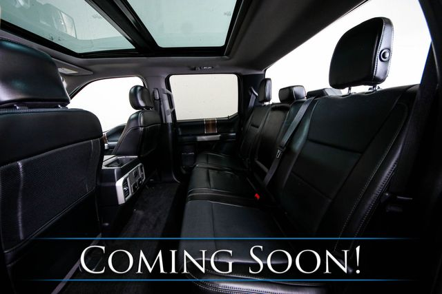 2017 Ford F-150 Lariat Crew Cab 4x4 w/Panoramic Roof, Nav, Heated/Cooled Seats, Pro-Backup Assist & 20s in Eau Claire, Wisconsin 54703