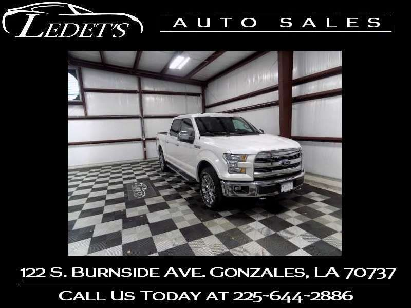 2017 Ford F-150 Lariat - Ledet's Auto Sales Gonzales_state_zip in Gonzales Louisiana