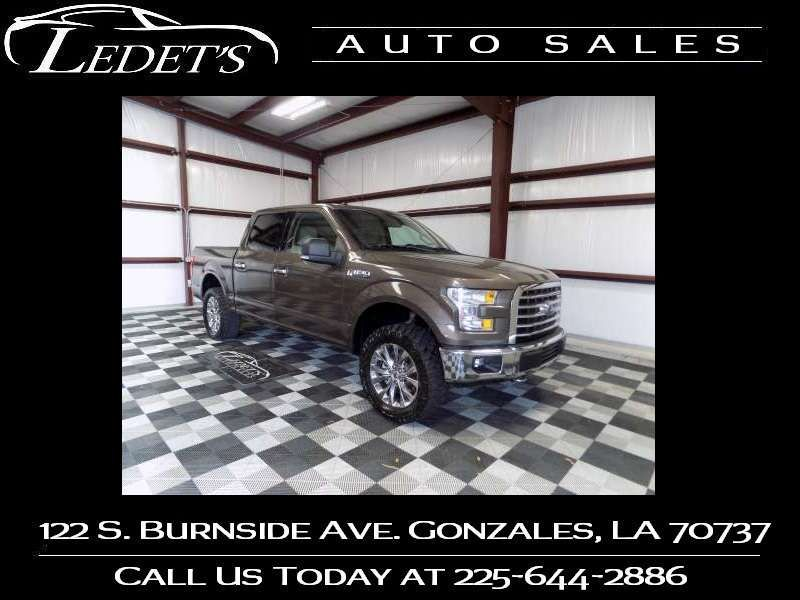 2017 Ford F-150 XLT - Ledet's Auto Sales Gonzales_state_zip in Gonzales Louisiana
