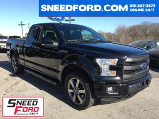2017 Ford F-150 Lariat 4X4 2.7L V6 Ecoboost in Gower Missouri, 64454