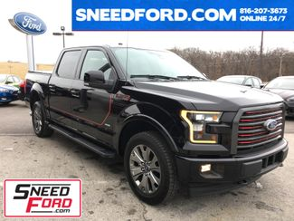 2017 Ford F-150 Lariat 4X4 Special Edition 3.5L V6 Ecoboost in Gower Missouri, 64454
