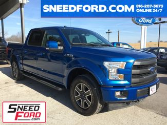 2017 Ford F-150 Lariat 4X4 5.0L V8 in Gower Missouri, 64454