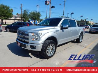 2017 Ford F-150 Super Crew Platinum Fx4 Platinum in Harlingen, TX 78550