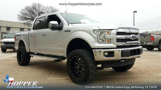 2017 Ford F-150 Lariat LIFT/CUSTOM WHEELS AND TIRES