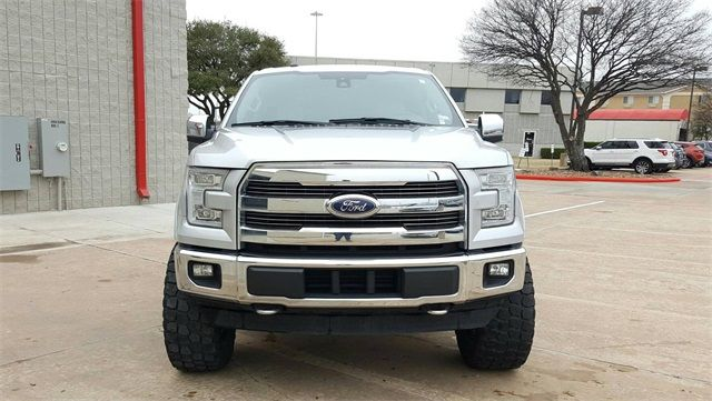 2017 Ford F-150 Lariat LIFT/CUSTOM WHEELS AND TIRES in McKinney, Texas 75070