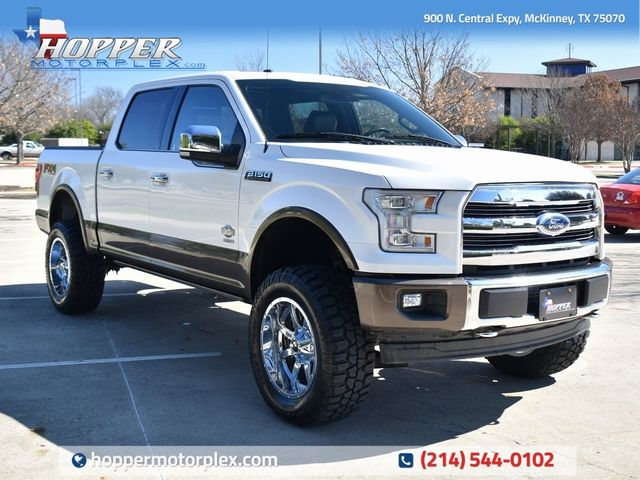 2017 Ford F-150 King Ranch NEW LIFT/CUSTOM WHEELS AND TIRES