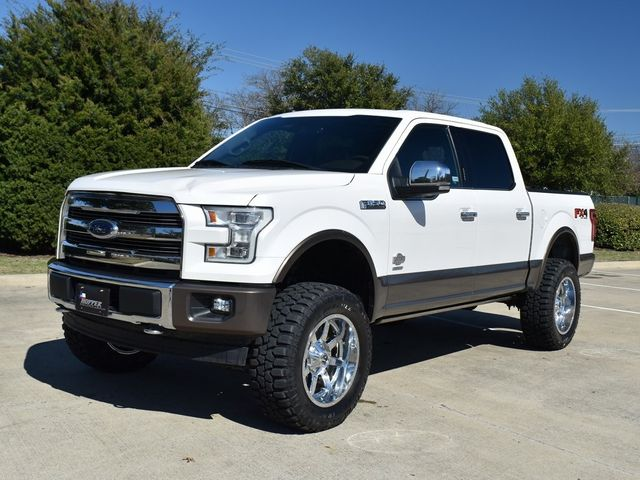 2017 Ford F-150 King Ranch NEW LIFT/CUSTOM WHEELS AND TIRES in McKinney, Texas 75070