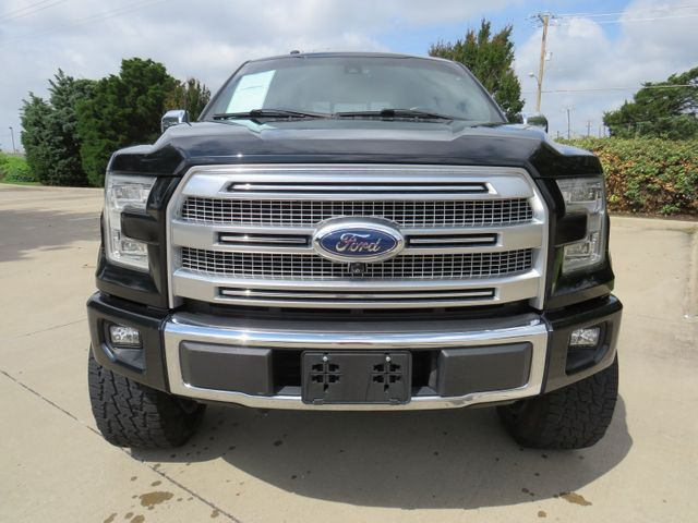 2017 Ford F-150 Platinum LIFT/CUSTOM WHEELS AND TIRES in McKinney, Texas 75070