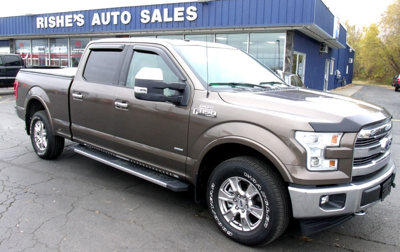 2017 Ford F-150 Lariat w Nav,Rear heated seats Loaded!   Rishe's Import Center in Ogdensburg New York