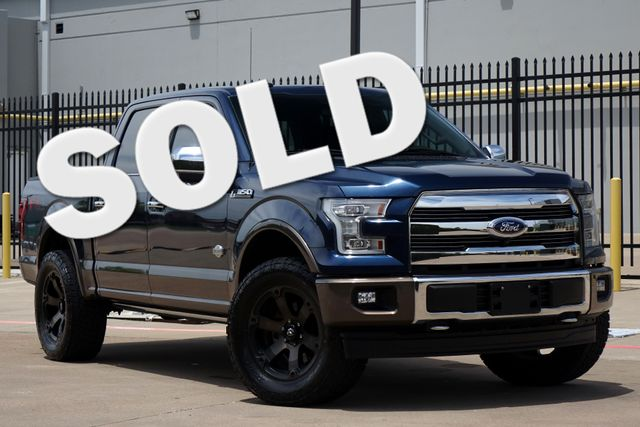2017 Ford F-150 King Ranch 4x4 - PANO ROOF - Pwr Boards - TECH PKG Plano, Texas
