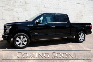 2017 Ford F-150 Platinum Crew Cab 4x4 w/Panoramic Roof, Nav, 360º Camera, & Adaptive Cruise Ctrl in Eau Claire, Wisconsin 54703