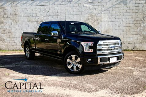 2017 Ford F-150 Platinum SuperCrew 4x4 w/Touchscreen Navigation, Panoramic Roof and Heated/Cooled Seats in Eau Claire