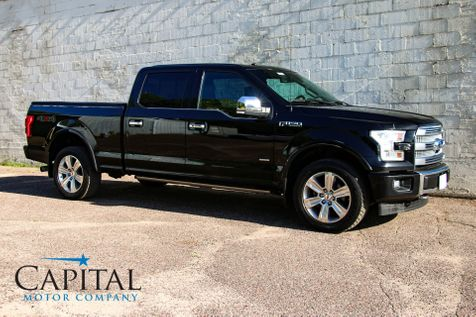 2017 Ford F-150 Platinum SuperCrew 4x4 w/Touchscreen Navigation, Panoramic Roof & Heated/Cooled Seats in Eau Claire