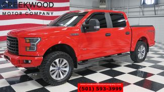 2017 Ford F-150 XLT 4X4 FX4 EcoBoost Red 20s New Tires 1Owner NICE in Searcy, AR 72143