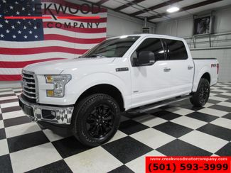 2017 Ford F-150 Lariat XLT 4x4 FX4 White Nav Pano Roof Black 20s in Searcy, AR 72143