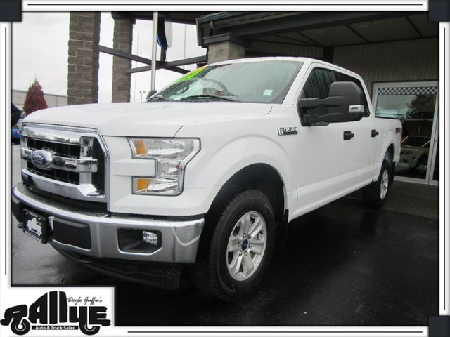 2017 Ford F-150 SUPERCREW FX4 XLT in Burlington WA, 98233