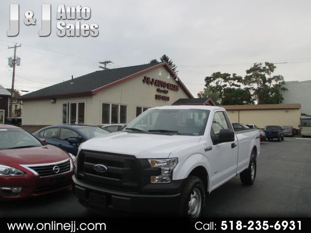 2017 Ford F-150 Reg. Cab Long Bed 4WD