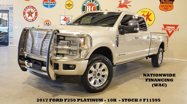 2017 Ford F-250 Platinum 4X4 DIESEL,PANO ROOF,NAV,360 CAM,10K