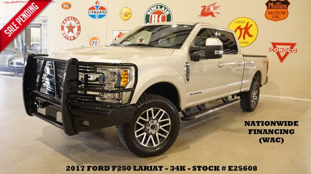 2017 Ford F-250 Lariat 4X4 RANCH BUMPERS,PANO ROOF,NAV,360 CAM,34K