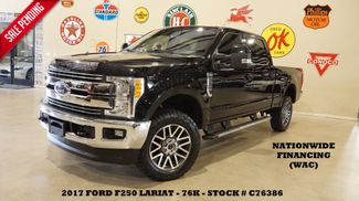 2017 Ford F-250 Lariat 4X4 6.2L,NAV,BACK-UP CAM,HTD/COOL LTH,76K in Carrollton, TX 75006
