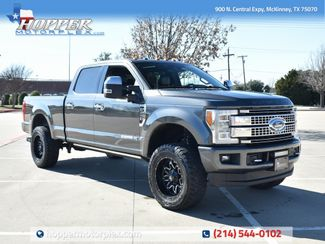 2017 Ford F-250SD Platinum LIFT KIT/CUSTOM WHEELS AND TIRES in McKinney, Texas 75070