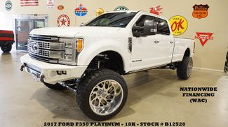 2017 Ford F-350 Platinum 4X4 LIFTED,ROOF,NAV,360 CAM,24'S,18K in Carrollton TX, 75006