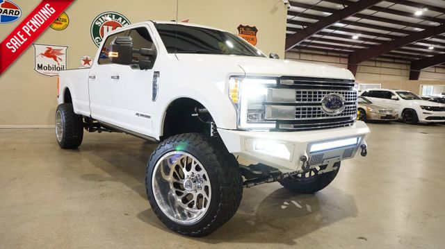 2017 Ford F-350 Platinum 4X4 LIFTED,ROOF,NAV,360 CAM,24'S,18K