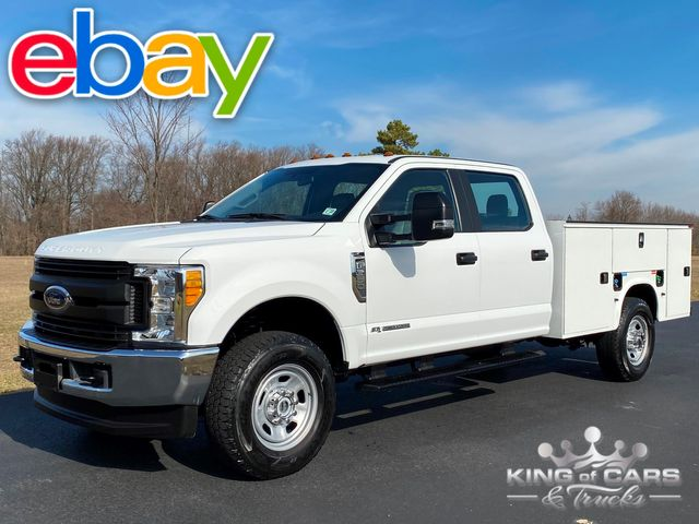 2017 Ford F-350 Crew 4x4 1-OWNER 6.7L DIESEL UTILITY/ SERVICE TRUCK 31K MILE