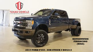 2017 Ford F-350 DRW King Ranch 4X4 LIFTED,ROOF,360 CAM,FUEL WHLS,80K in Carrollton, TX 75006