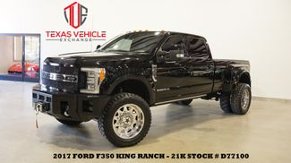 2017 Ford F-350 DRW King Ranch 4X4 LIFTED,BUMPERS,360 CAM,A/F 22'S,21K in Carrollton, TX 75006