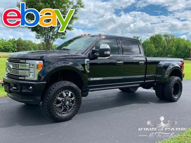 2017 Ford F-350 Platinum DRW 4X4 LIFTED LOW MILES